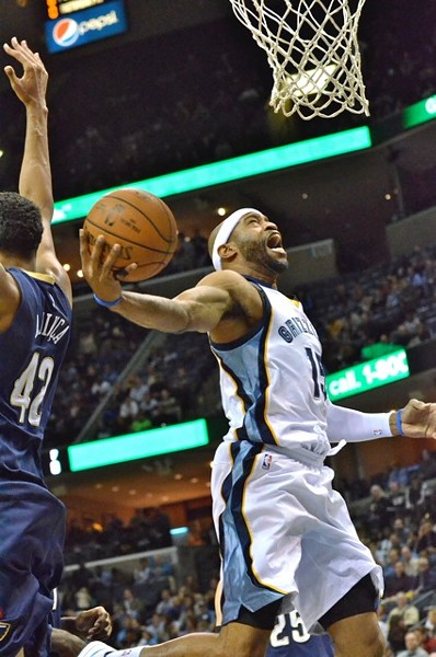 Is Vince Carter still recovering from offseason ankle surgery, or is this the player that the Grizzlies signed? - LARRY KUZNIEWSKI
