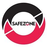 SafeZone volunteers wear this logo.