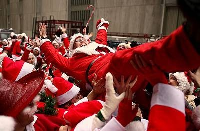 SantaCon in New York City