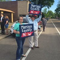 Scenes From the Memphis Marriage Equality Rally
