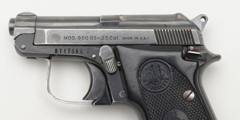 Semi-automatic .25 caliber pistol
