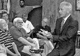 JACKSON BAKER - Senator Bob Corker, at Monday's town meeting in Oakland.