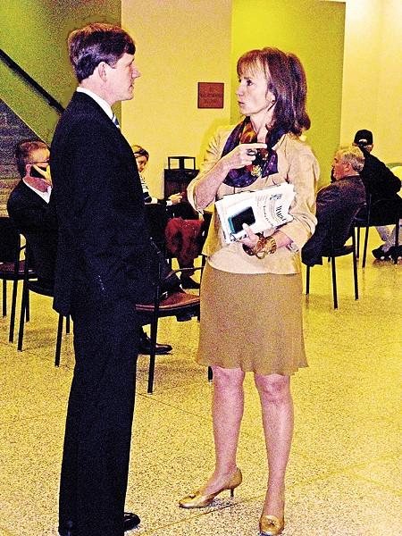 Senator Kelsey with House Speaker Beth Harwell