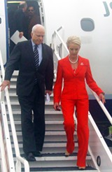 JB - Senator McCain and wife Cindy arriving in Memphis Thursday afternoon.