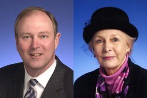Senators Kyle (l) and Marrero