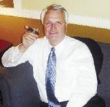 Sentate Speaker Ron Ramsey, turned away in 2005, finally got his cigar. - JACKSON BAKER