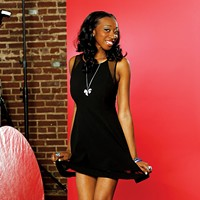 Hot Pics Shantrel Mosley  20 • Full-time student/dancer for the Memphis Redbirds/model • Single • Aries Justin Fox Burks