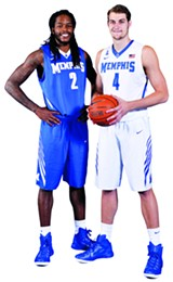 Shaq Goodwin and Austin Nichols - LARRY KUZNIEWSKI