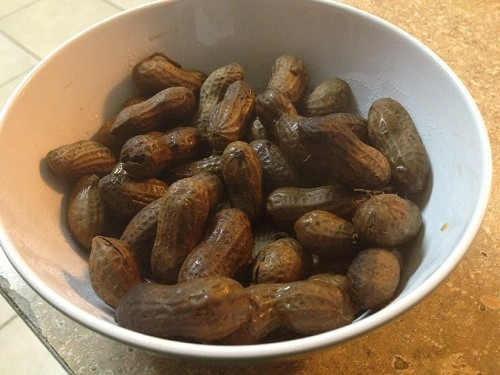 Sharas boiled peanuts