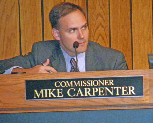 Shelby County Commissioner Mike Carpenter