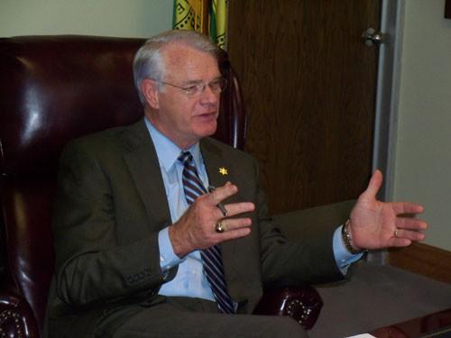 Shelby County Mayor Mark Luttrell