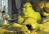 Shrek's still grouchy, Donkey's still oblivious.