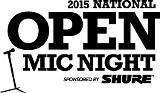 Shure's National Open Mic Night at Java Cabana