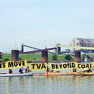 Sierra Club Protests McKellar Lake Pollution