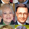Six Familiar Faces in Race to Become Interim Successor to Mike Carpenter on County Commission