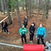 Slideshow and Video: Go Ape! Adventure Course