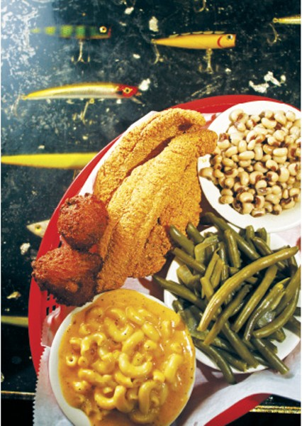 """Soul Fish, 1st place: """"Best Home Cooking / Soul Food"""" - JUSTIN FOX BURKS"""