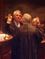 JB - Speaker Ramsey takes the oath.