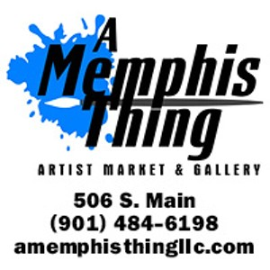 Specializing in local art and gifts. Shop for one of a kind pottery, jewelry, paintings and more! 506 S. Main St 901-484-6198 www.amemphisthingllc.com