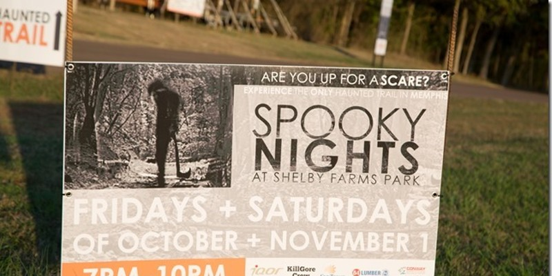 Spooky Nights at Shelby Farms