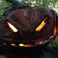 Spooky Pictures from Spooky Nights at Shelby Farms