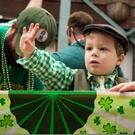 St. Patrick's Day Parade on Beale Street