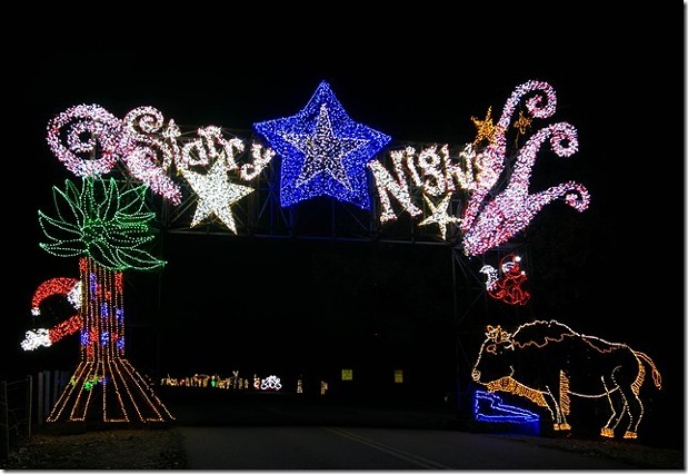 starry nights and a peabody christmas