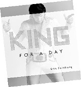 "Students, businessmen, actors, waiters, mechanics, attorneys: King for a Day features photos of dozens of Elvis tribute artists from all walks of life. According to photographer Erin Feinberg, ""Elvis Presley is their religion."""