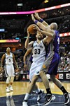 Suns center Marcin Gortat got the best of Marc Gasol, especially early on, but it wasn't enough for Phoenix.