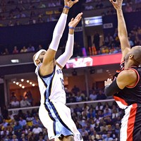 Survive and Advance: Scenes from Game 5. Grizzlies 99, Trail Blazers 93