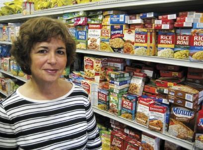 Susan Sanford, president of the    Mid-South Food Bank - HANNAH SAYLE