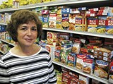 Susan Sanford, president of the    Mid-South Food Bank - HANNAH SAYLE