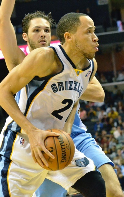 Tayshaun Prince had an excellent night before he went down with an ankle sprain.