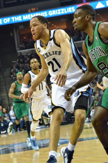 Tayshaun Prince had some vintage moments on each end of the floor.