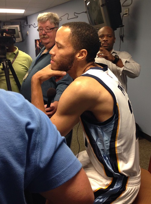 Tayshaun Prince might be the odd man out at the small forward spot.