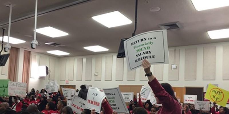 Teachers Express Anger Over Compensation Plan