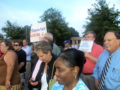 TeaParty Protesters in Germantown - JB