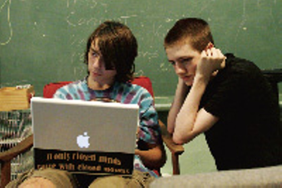 Teens direct their own learning - JUSTIN FOX BURKS