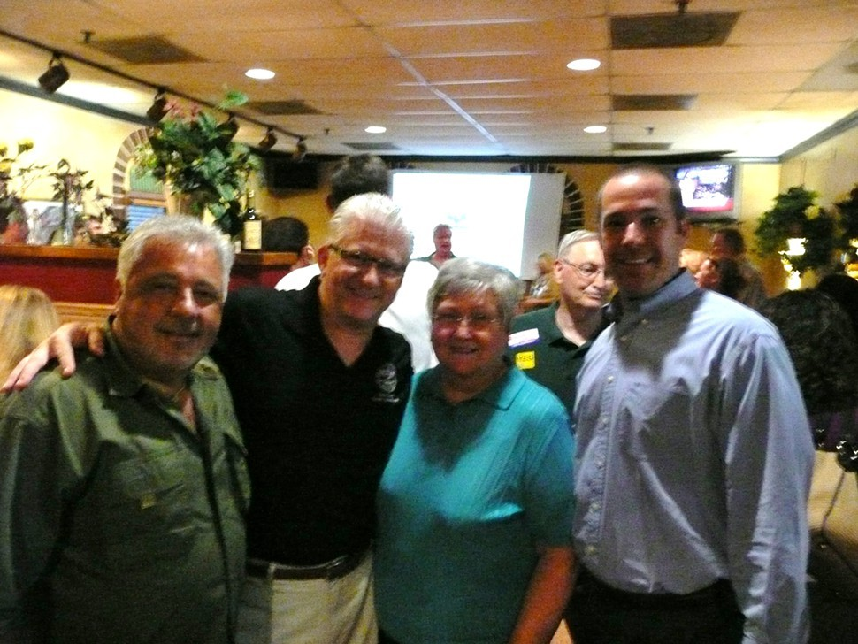 Terry Roland, Chris Thomas, Sharon Goldsworthy, and Wyatt Bunker