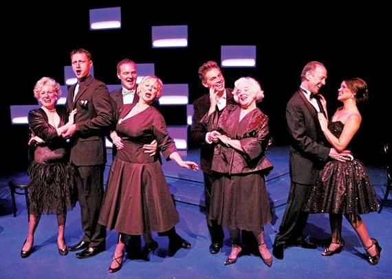The cast of A Sondheim Celebration