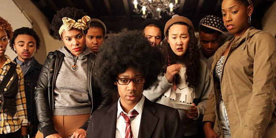 The cast of Dear White People