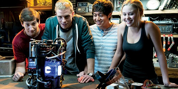 The cast of Project Almanac