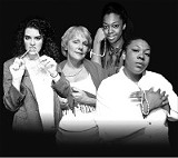 The cast of String of Pearls, playing this month at TheatreWorks