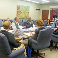 The committee on renaming parks had its inaugural meeting Friday in the City Council conference room.