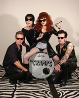 The Cramps. Lux Interior, rear