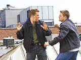 The Departed: Damon and DiCaprio go at it.