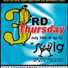"""The Flyer's """"Third Thursday"""" Party Hits Swig This Week"""