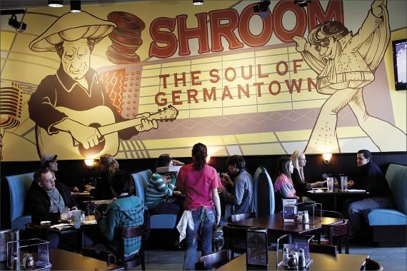 The happening scene inside Mellow Mushroom in Germantown