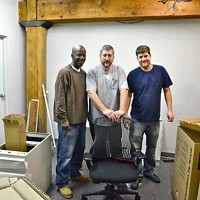 Office Rehab January 2, 2013 The installers from Versatech.  These guys were a pleasure to work with! Larry Kuzniewski