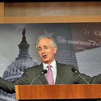 The laborious song stylings of Bob Corker.